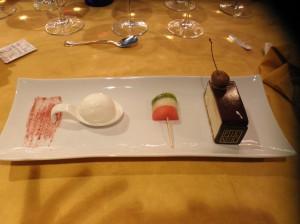 Tierra de Pinares tarta aniversario en el Pic-Nic