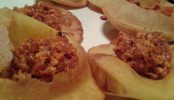 Cocina asturiana en la sidrería Tierra Astur, en Oviedo