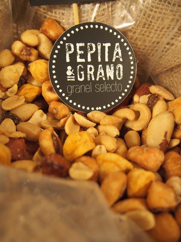 frutos secos pepita y grano