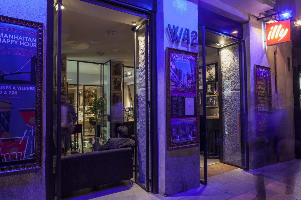 West 42nd concept bar en Madrid