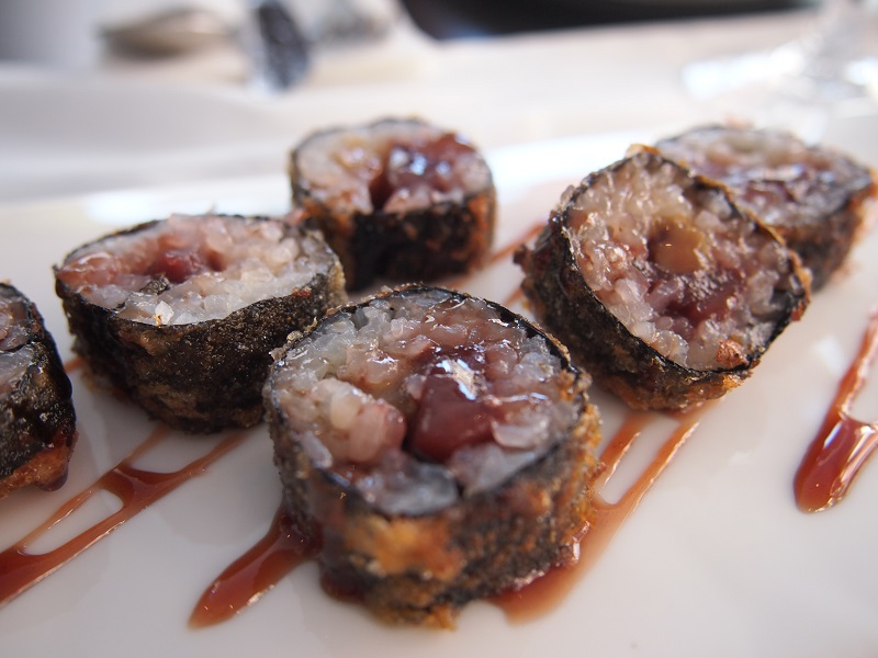 sushi postre
