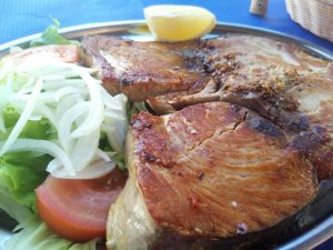 Sidrería As de Guía Bonita pescado