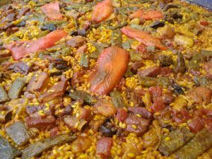 Valencia Paella típica valenciana