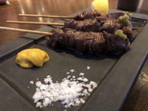 Restaurante Torikey yakitori wagyu-tajima