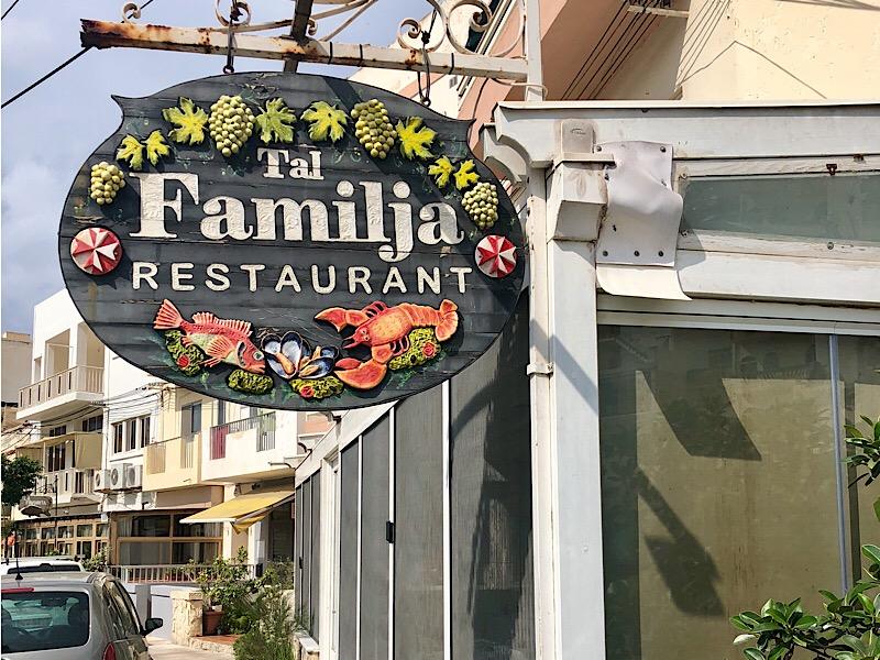 Dónde comer en Malta _Tal Familja