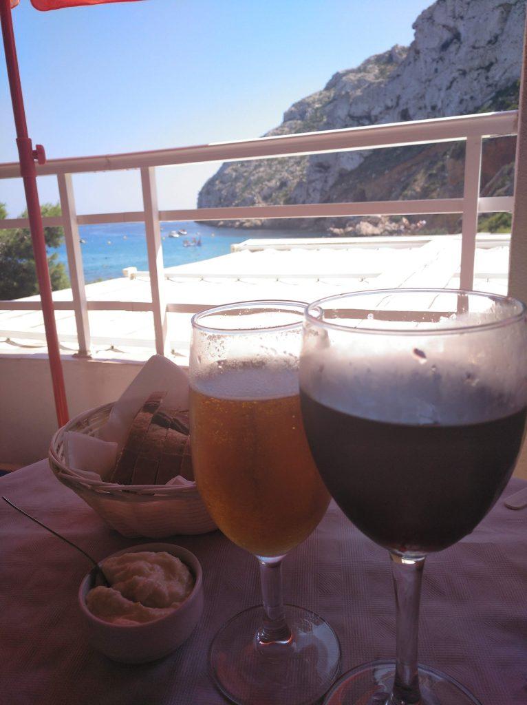 Restaurante Rosita en cala de la Granadella
