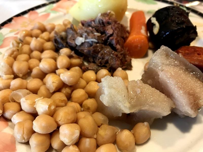Comer cocido en Madrid
