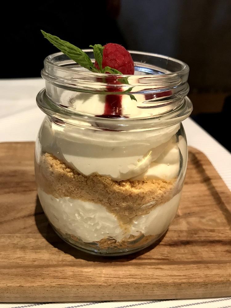 Vespok tarrina cheesecake
