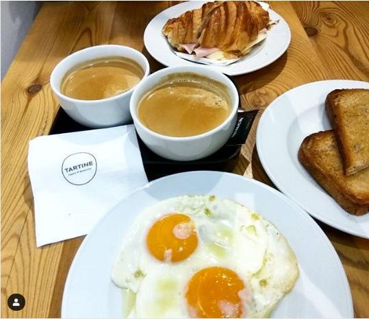 Lisboa desayunar en Tartine