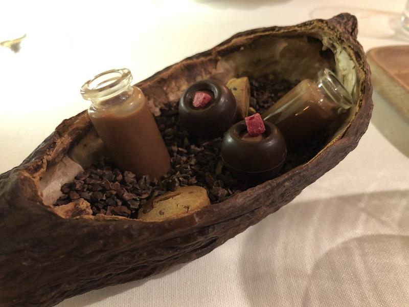 Restaurante Ikaro petit fours
