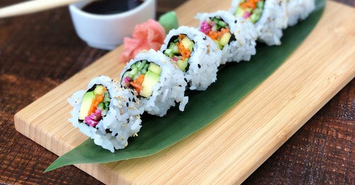 Sushi en Sushita Café