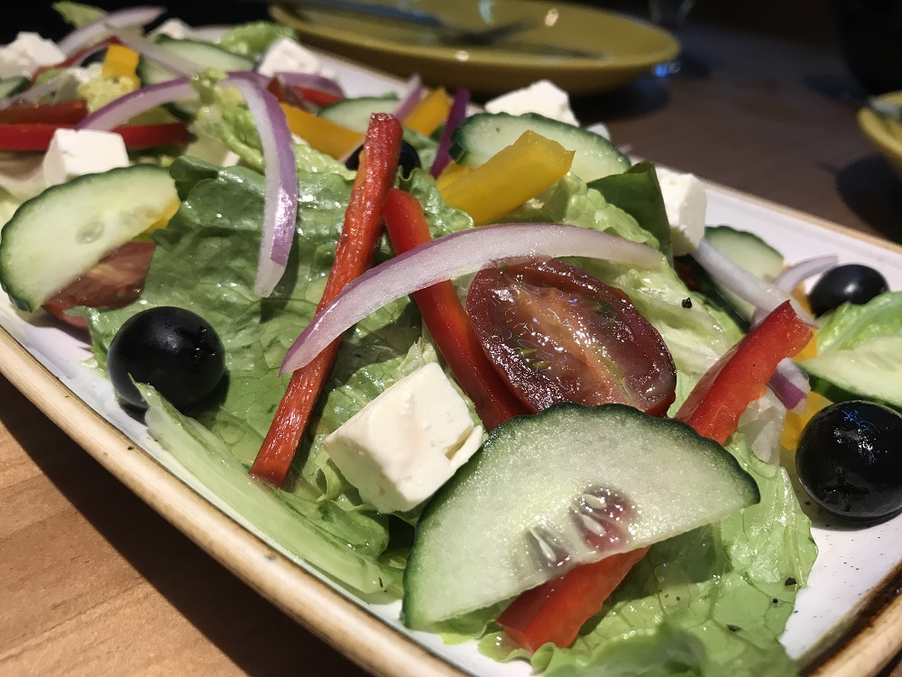 cocina mexicana en la moraleja ensalada