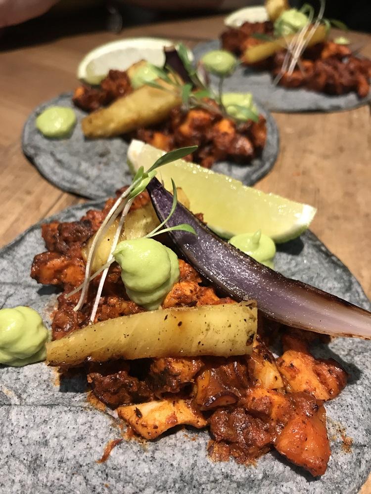 cocina mexicana en la moraleja tacos de pulpo