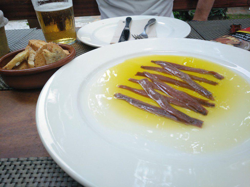 anchoas en conserva