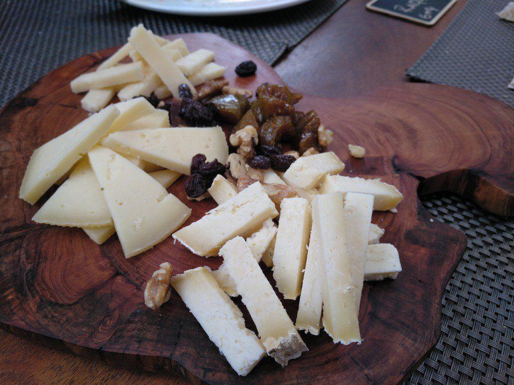 tabla de quesos cántabros