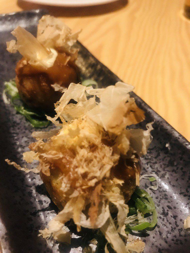 Nakeima Takoyaki de oreja a la plancha