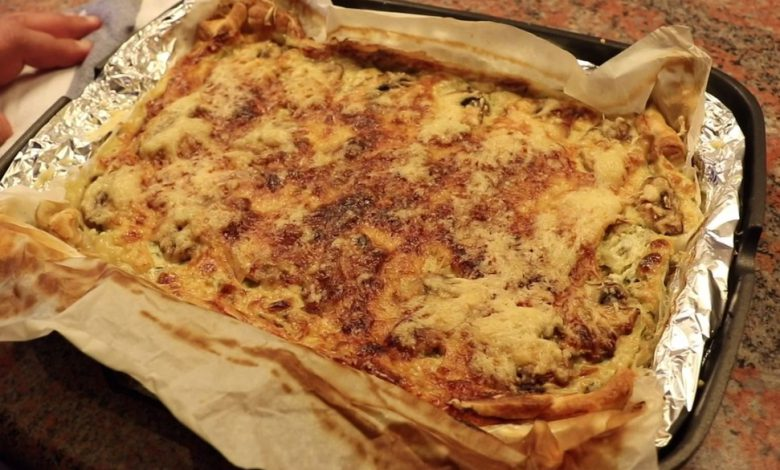 Photo of Quiche de puerro y bacon by César Galán.