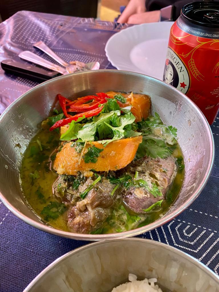 Curry verde carrilleras Kitchen154