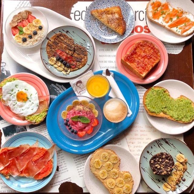 Desayunar en Logroño