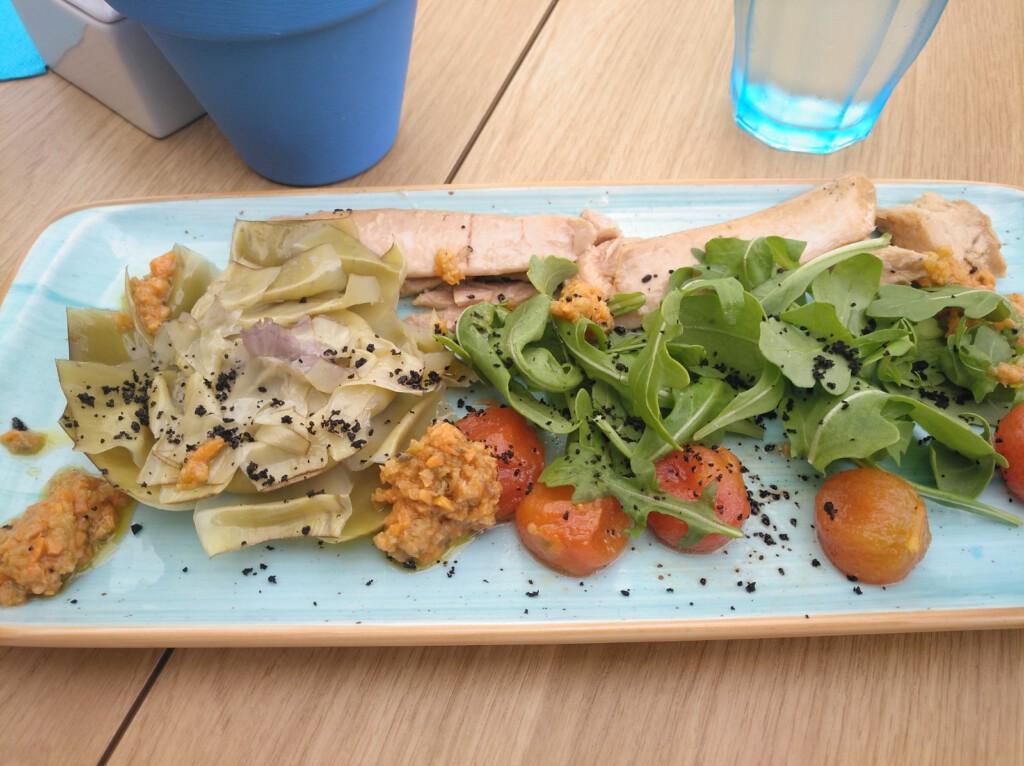 Ensalada de tomate raft