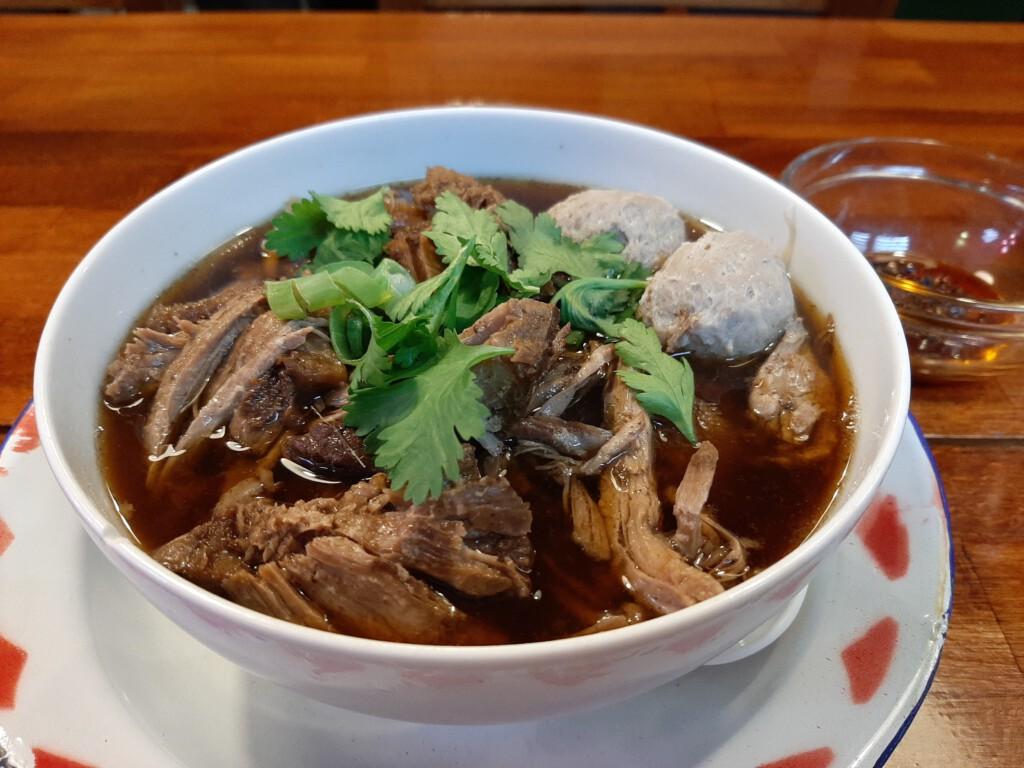 Asian Army Beef Brisket Noodle Soup