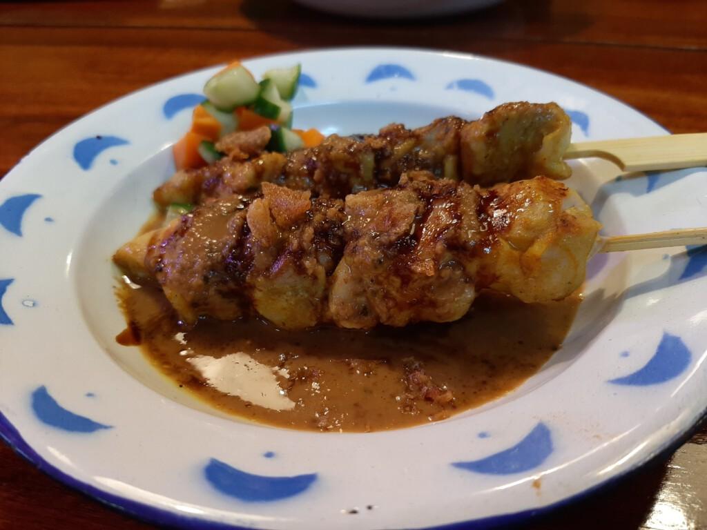 Asian Army Sate Ayam