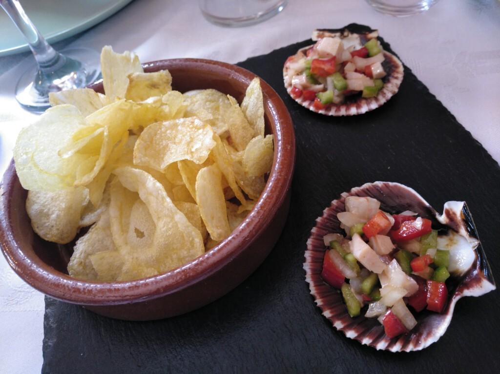 Aperitivo en Restaurante Los Naranjos