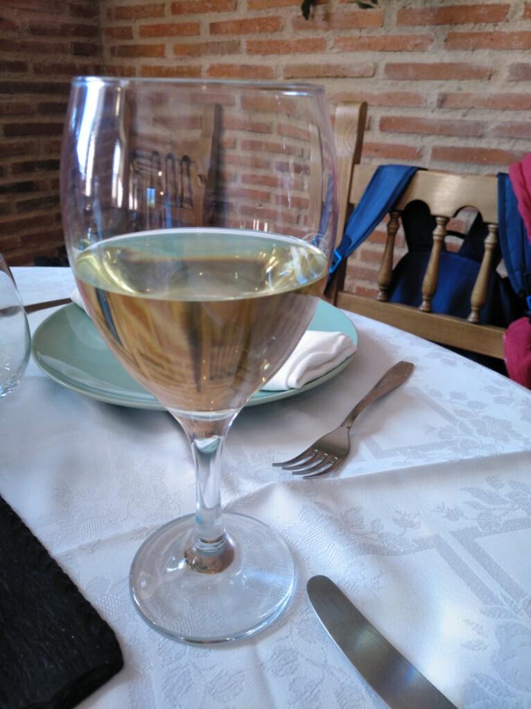 Verdejo en Restaurante Los Naranjos