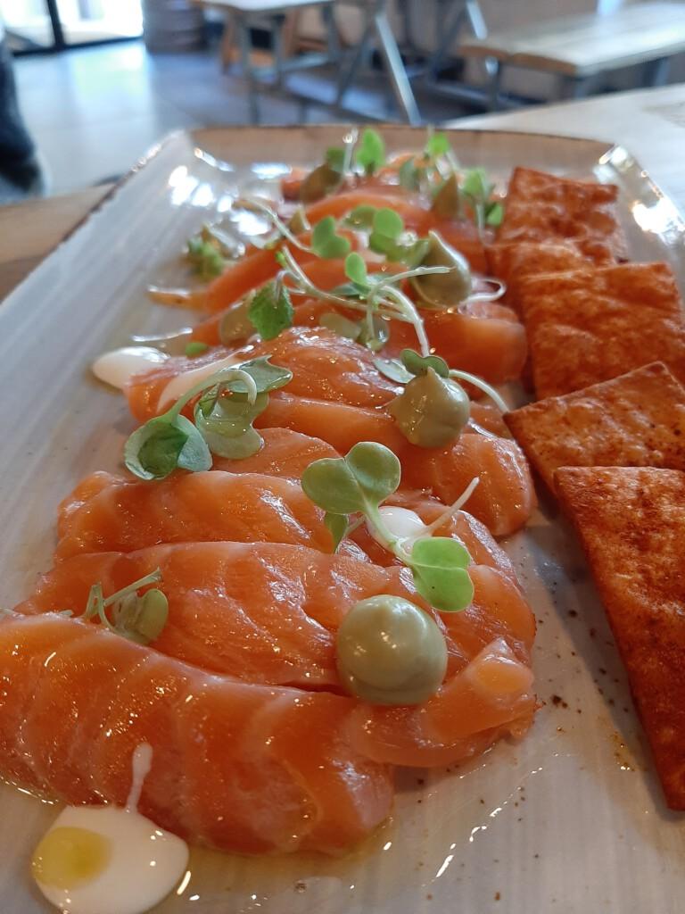 Caraba Madrid Salmon Marinado critico
