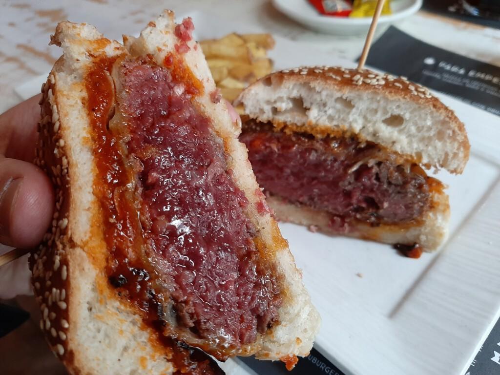 Gobu Burger Hamburguesa provolone