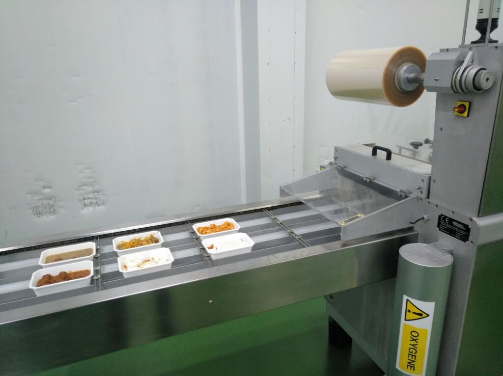 Máquina de precintado de LaPizka