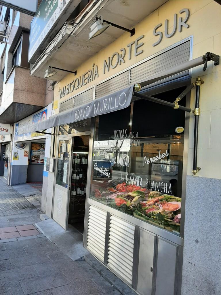 Marisqueria Norte y Sur Madrid