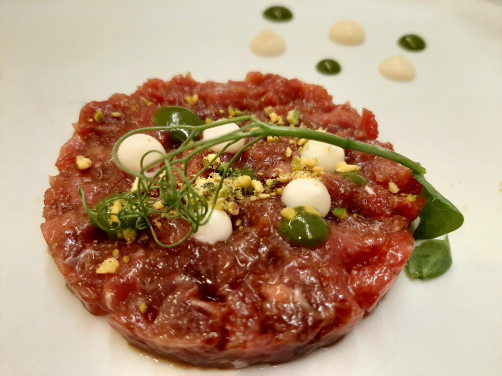 Bello e Bbuono steak tartar