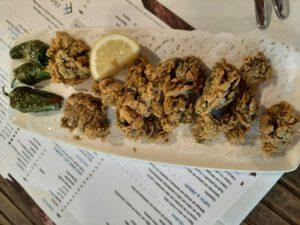 Comer en la provincia de Cádiz Ortiguillas de mar